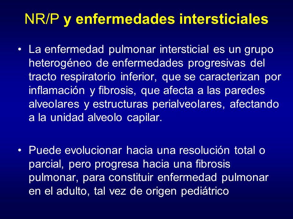 NR/P y enfermedades intersticiales