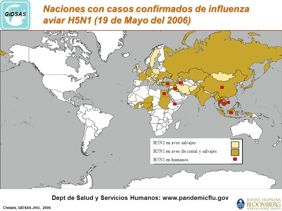 Dept de Salud y Servicios Humanos: www.pandemicflu.gov