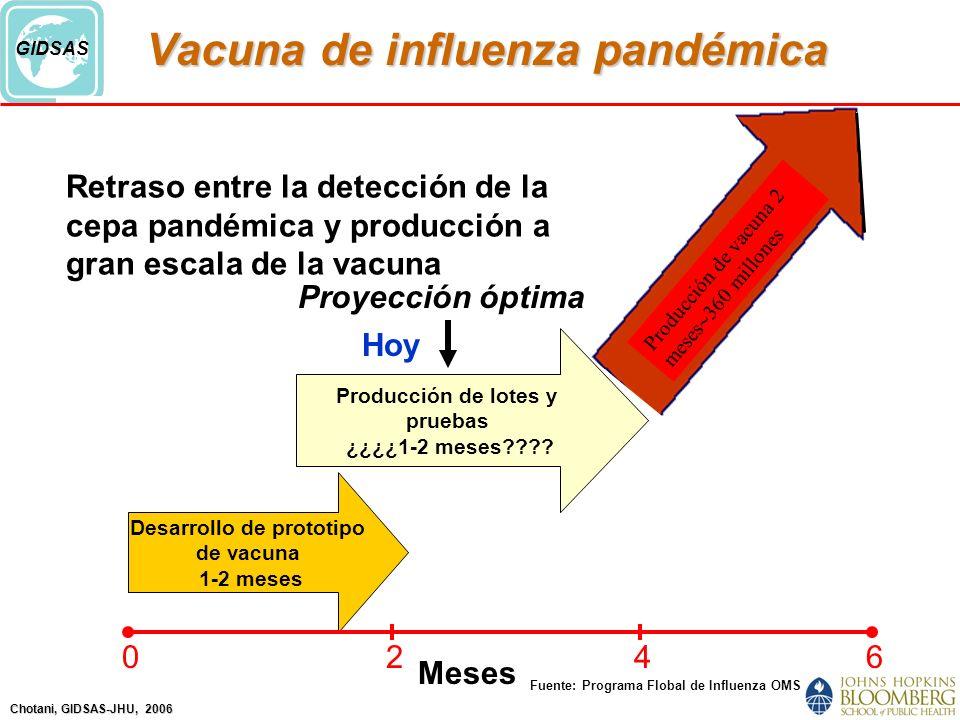 Vacuna de influenza pandémica