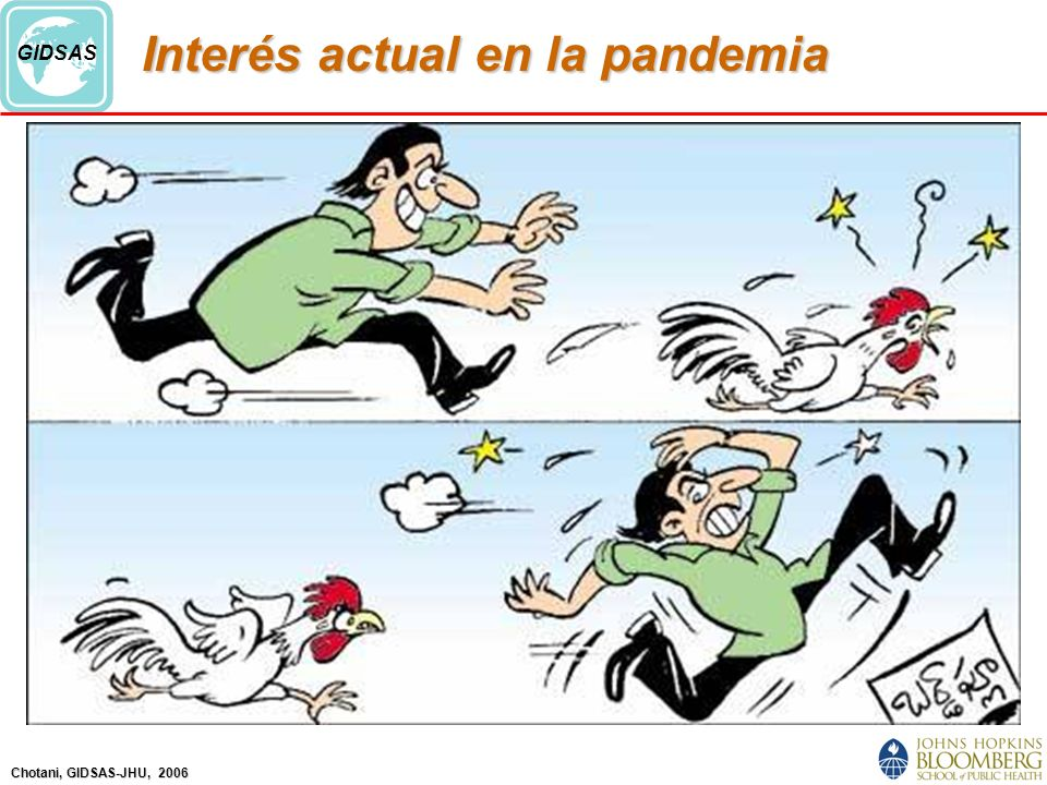 Interés actual en la pandemia