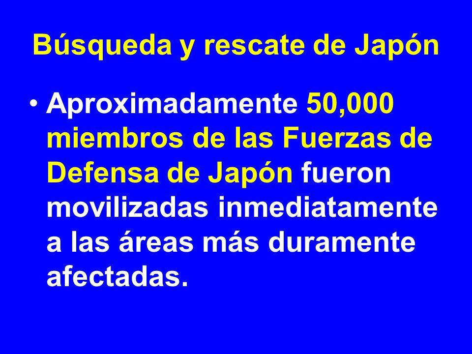 Búsqueda y rescate de Japón