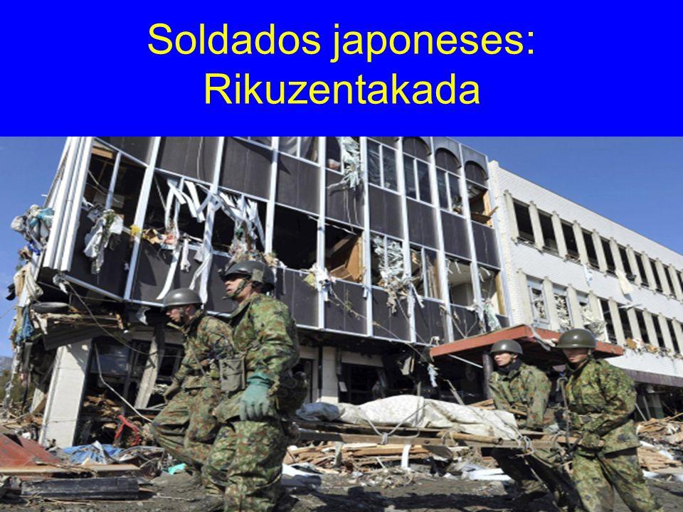 Soldados japoneses: Rikuzentakada