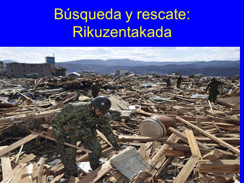 Búsqueda y rescate: Rikuzentakada
