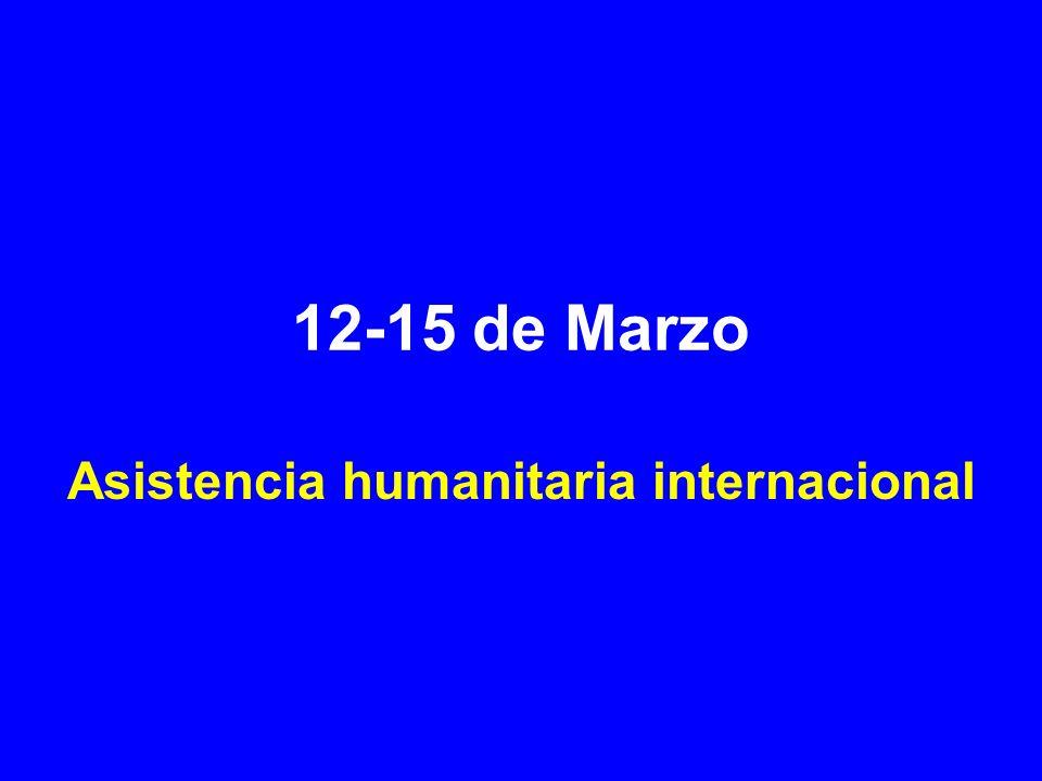Asistencia humanitaria internacional