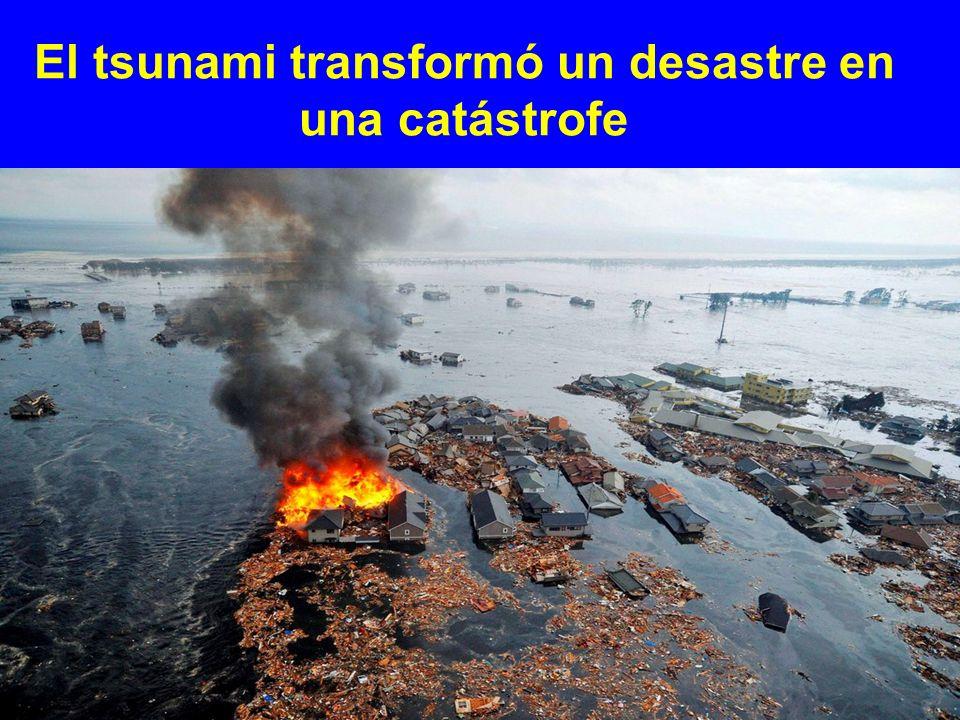 El tsunami transformó un desastre en una catástrofe