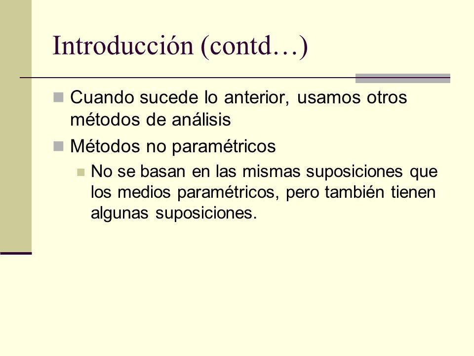 Introducción (contd…)