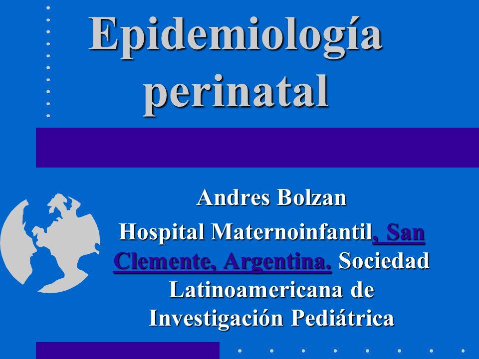 Epidemiología perinatal