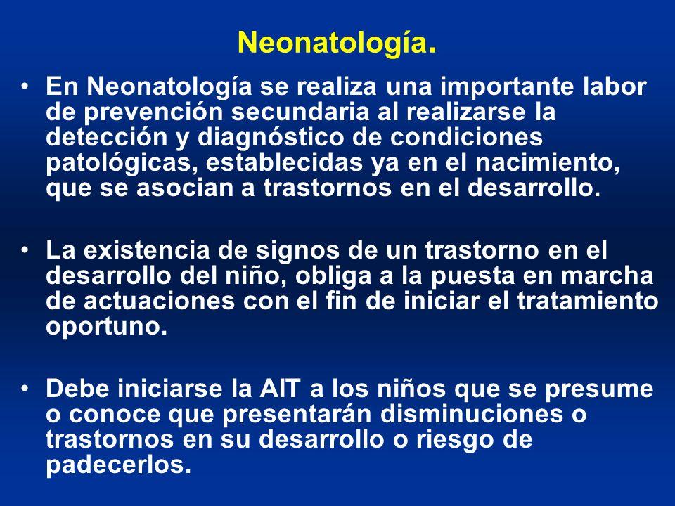 Neonatología.