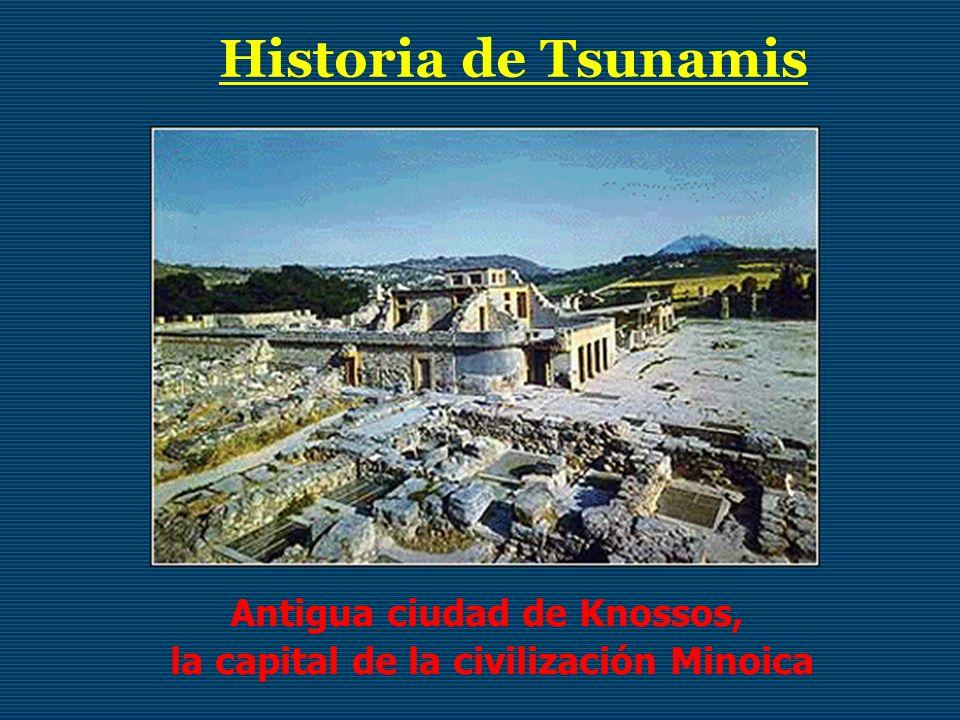 Antigua ciudad de Knossos, la capital de la civilización Minoica