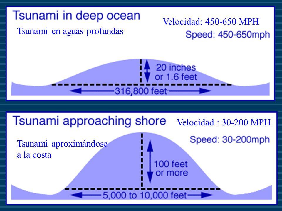 Tsunami en aguas profundas