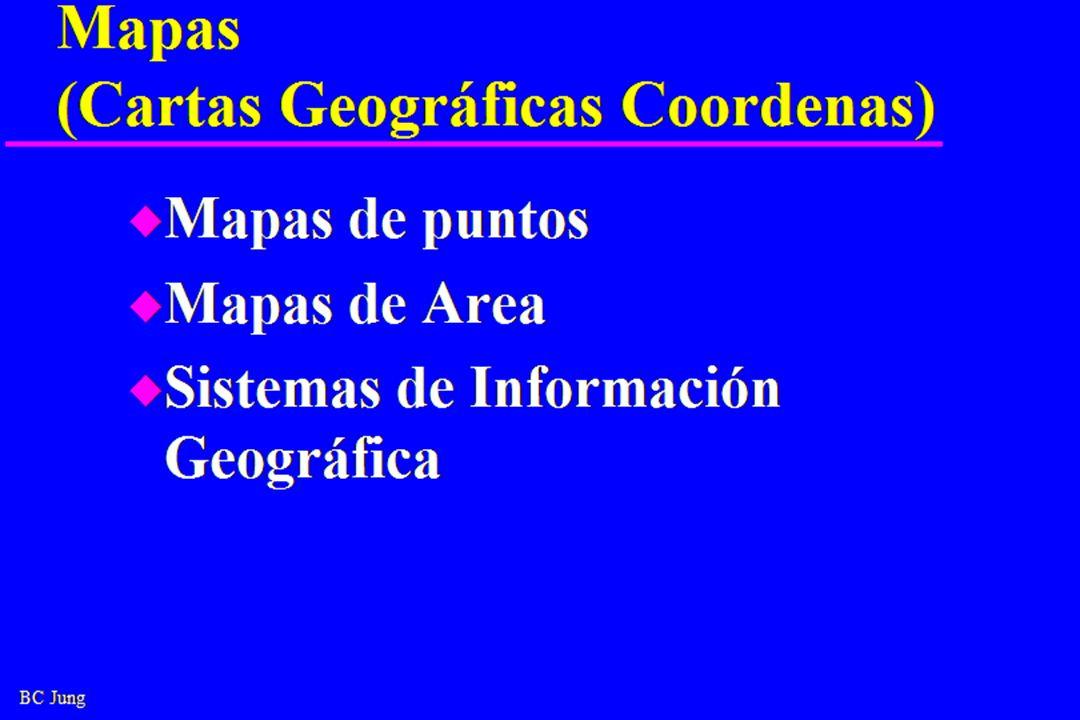 Mapas (Cartas Geográficas Coordenas)