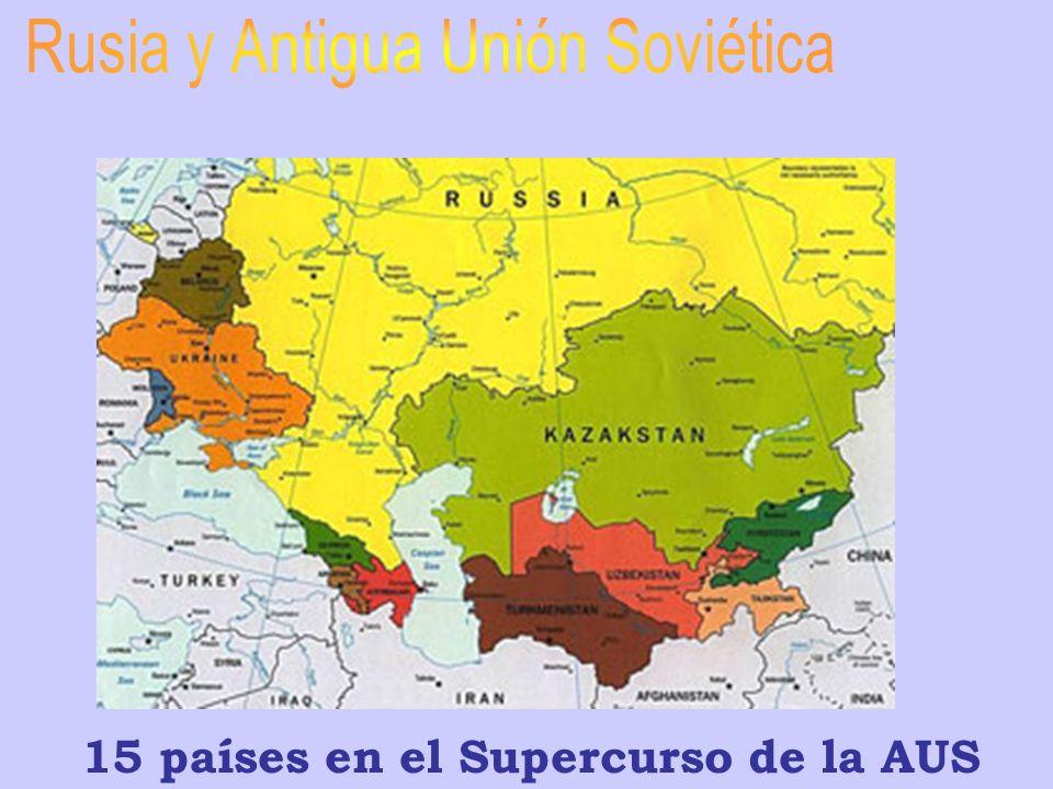 Rusia y Antigua Unión Soviética