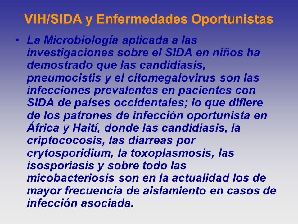 VIH/SIDA y Enfermedades Oportunistas