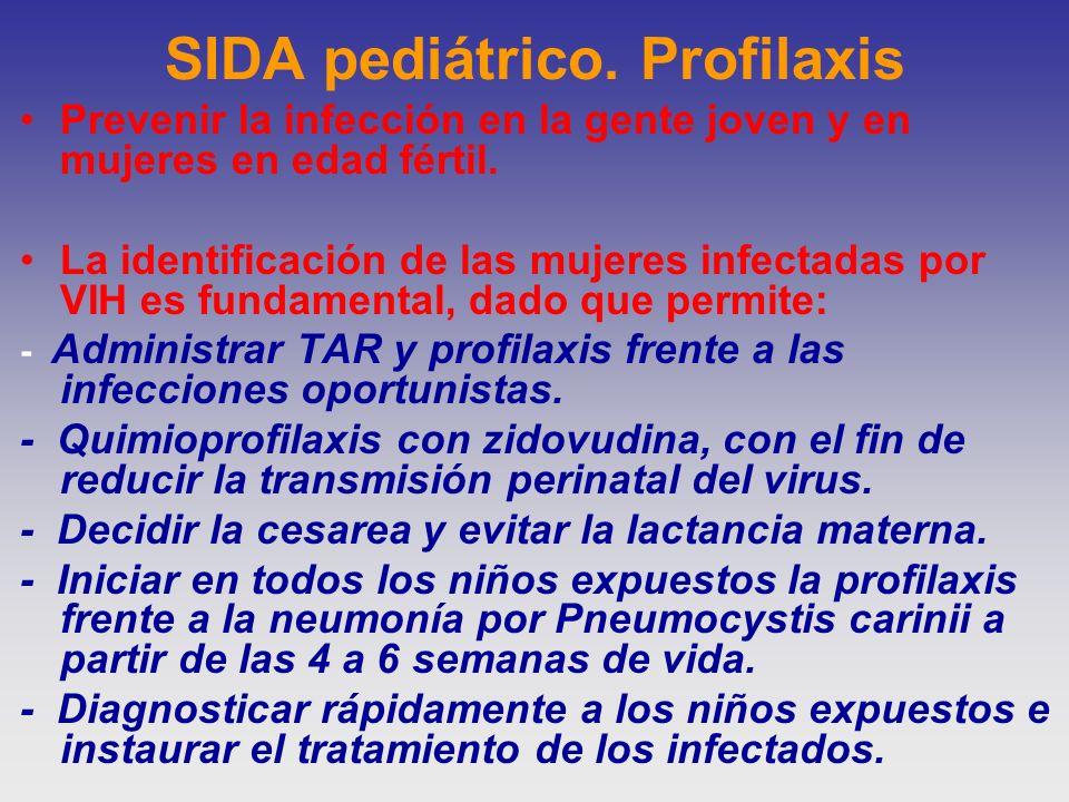 SIDA pediátrico. Profilaxis