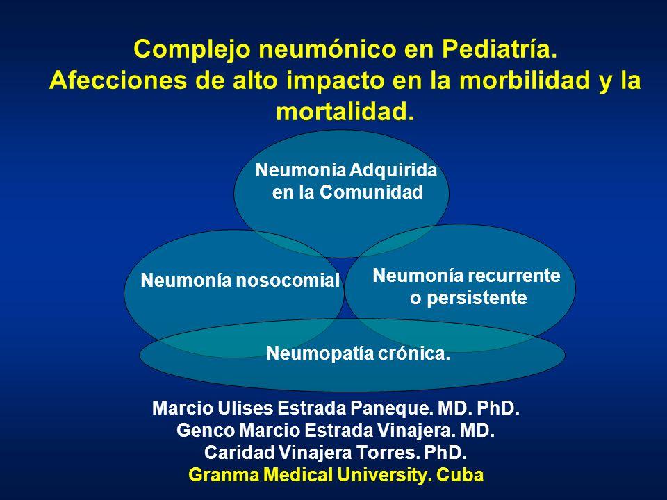 Complejo neumónico en Pediatría