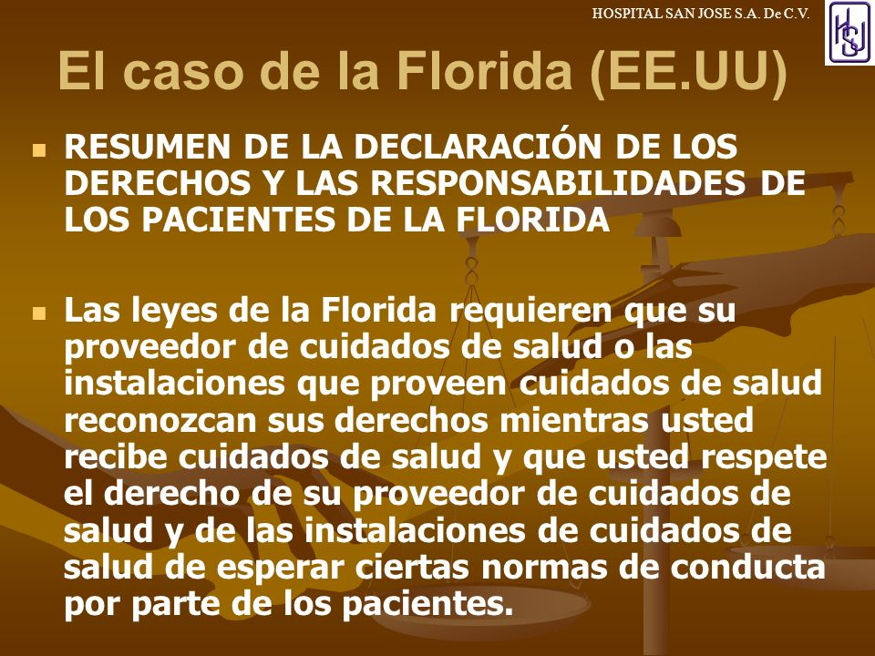 El caso de la Florida (EE.UU)