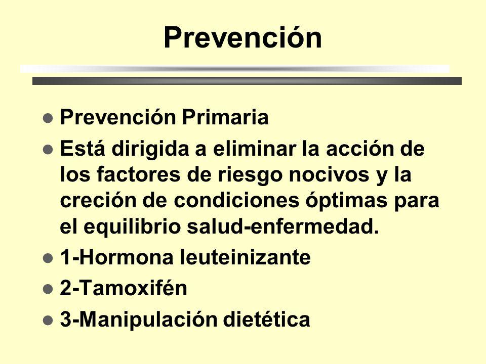 Prevención Prevención Primaria