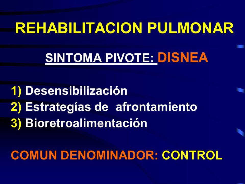 REHABILITACION PULMONAR