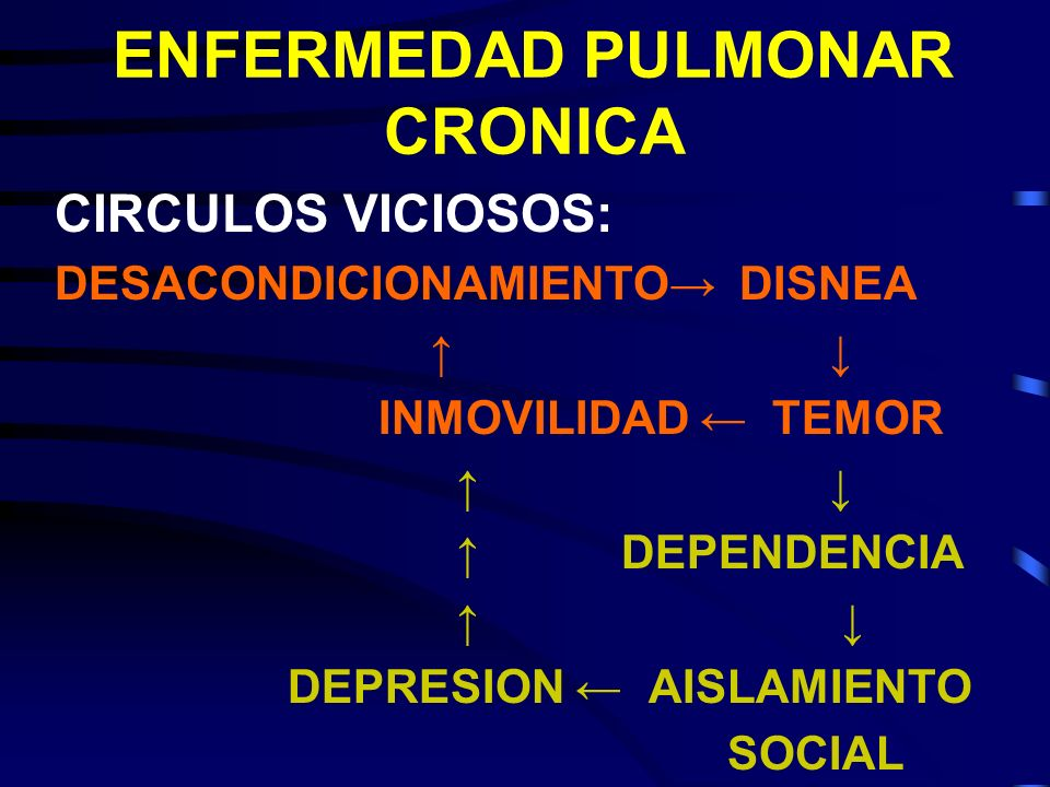 ENFERMEDAD PULMONAR CRONICA