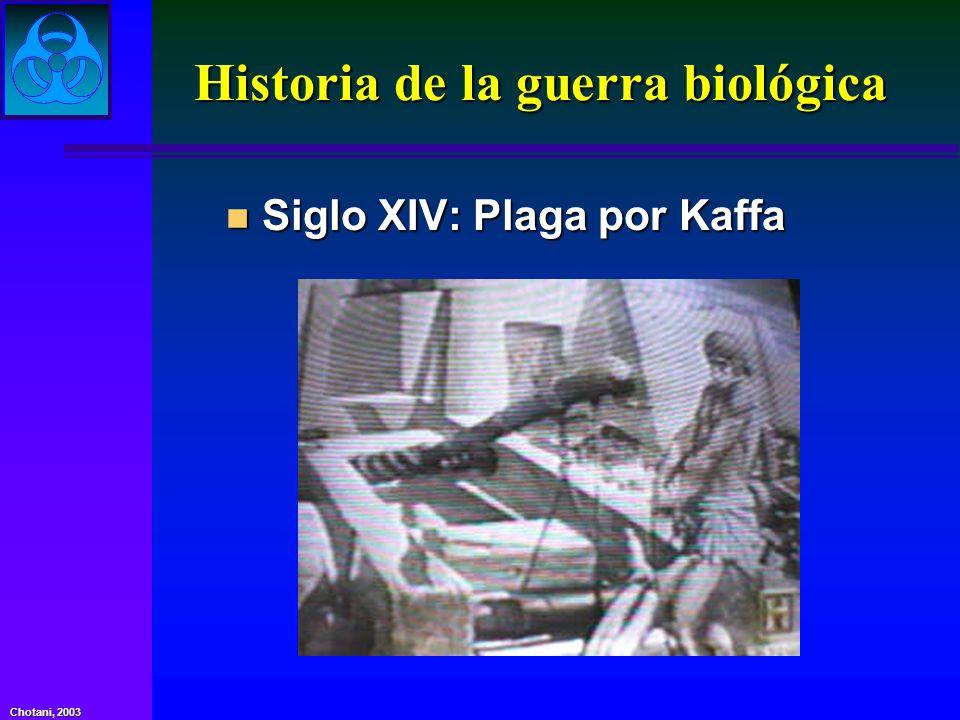 Historia de la guerra biológica