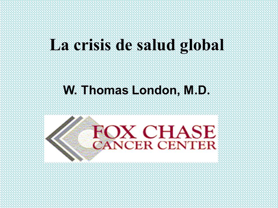 La crisis de salud global