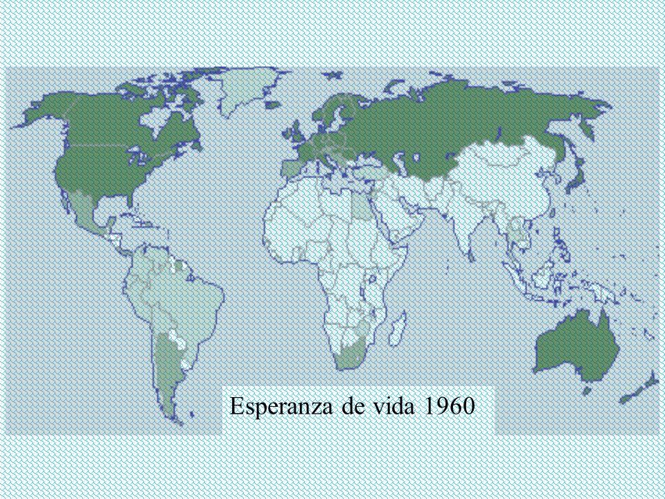 Esperanza de vida 1960
