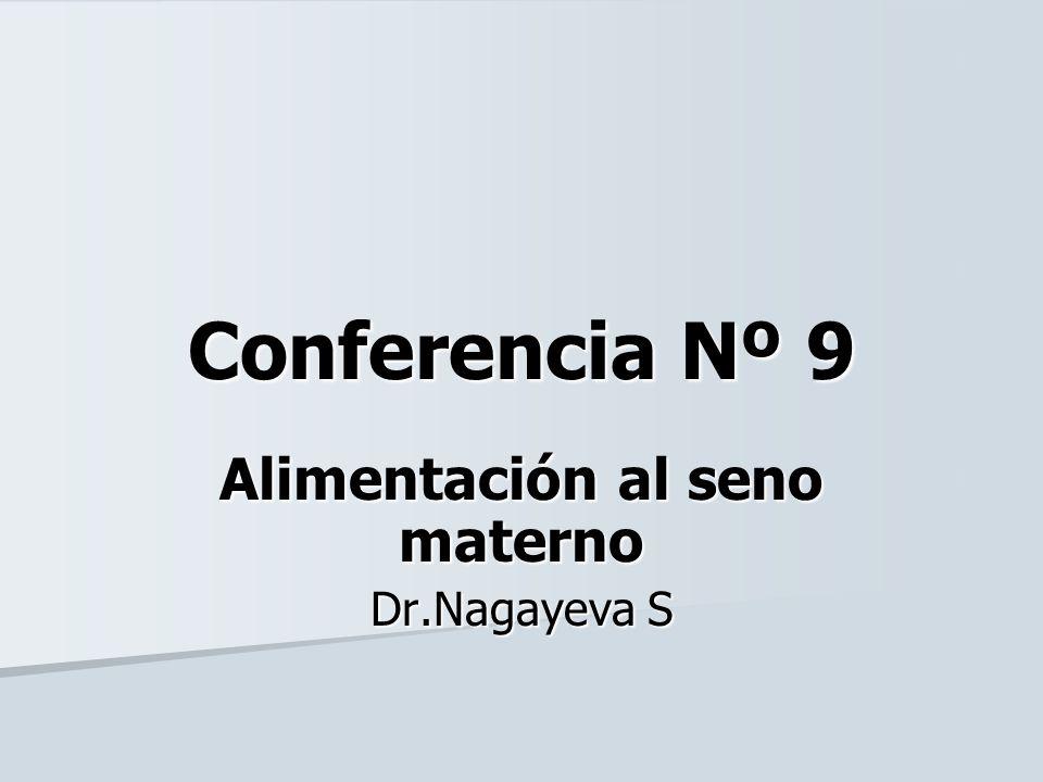 Alimentación al seno materno Dr.Nagayeva S