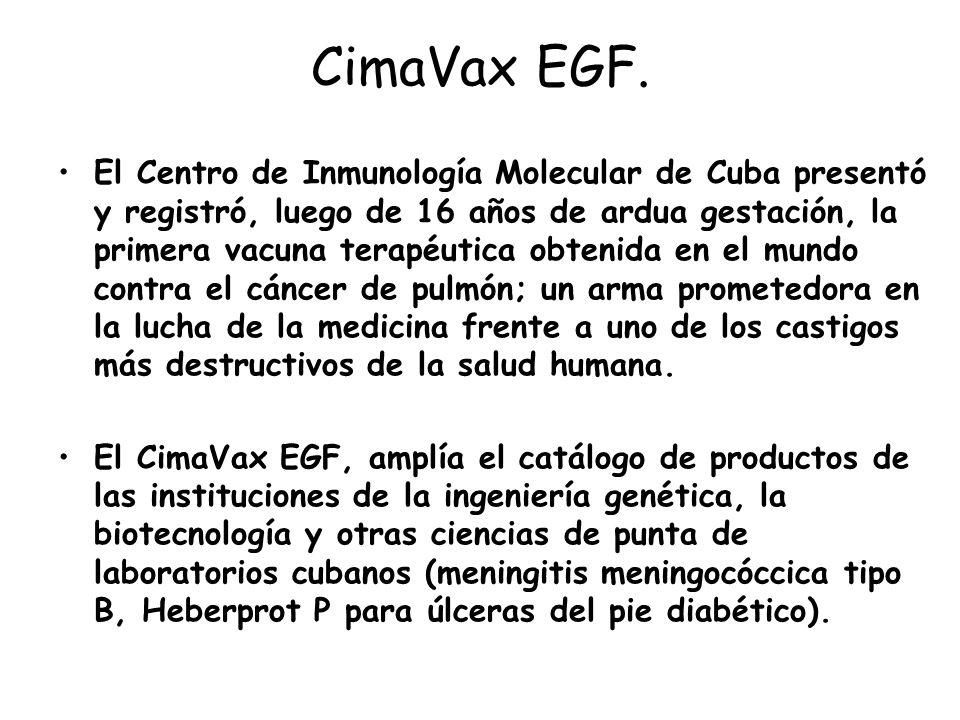 CimaVax EGF.