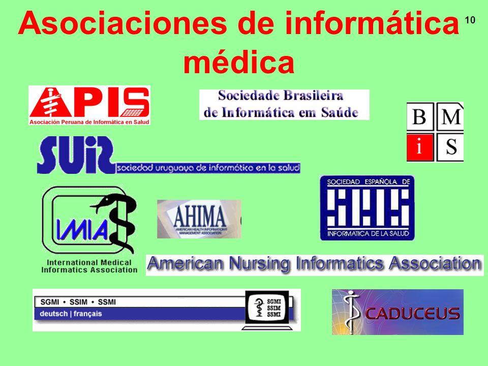 Asociaciones de informática médica