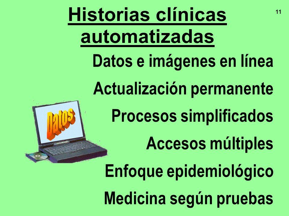 Historias clínicas automatizadas