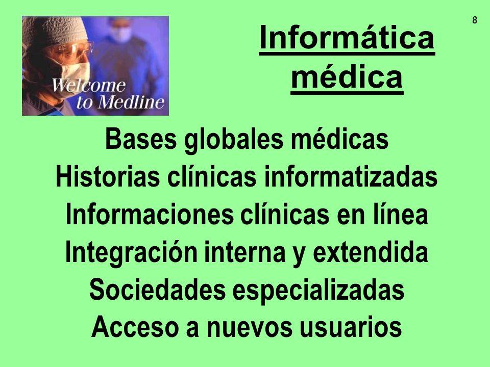 Informática médica Bases globales médicas