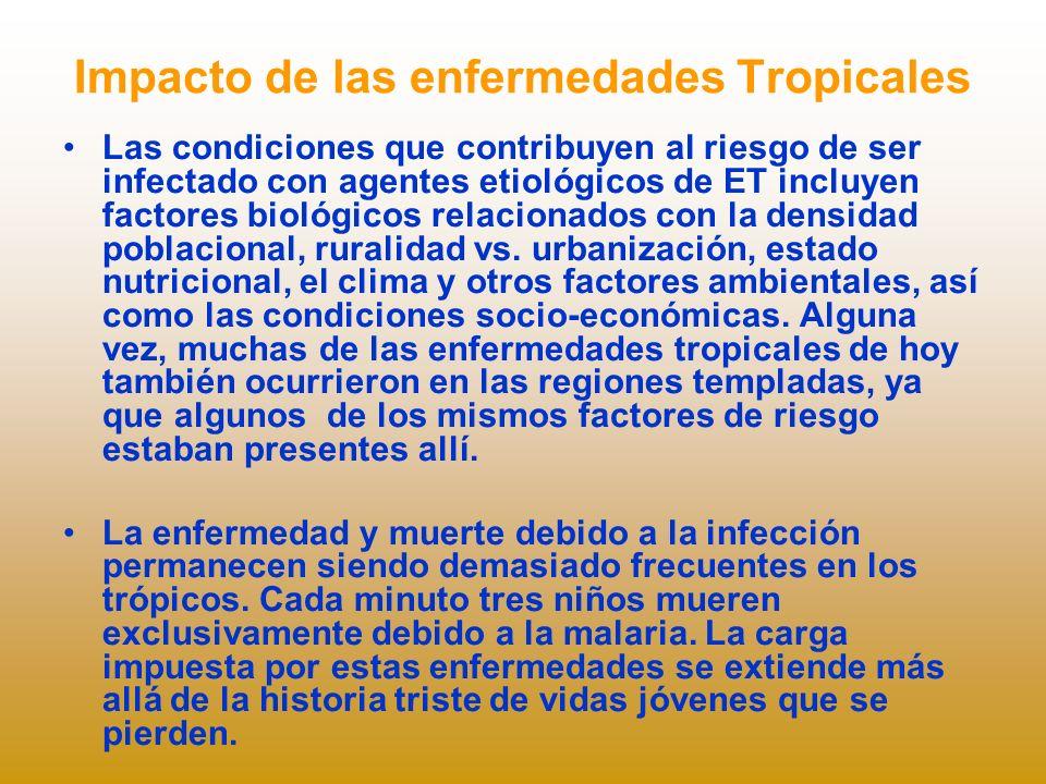 Impacto de las enfermedades Tropicales