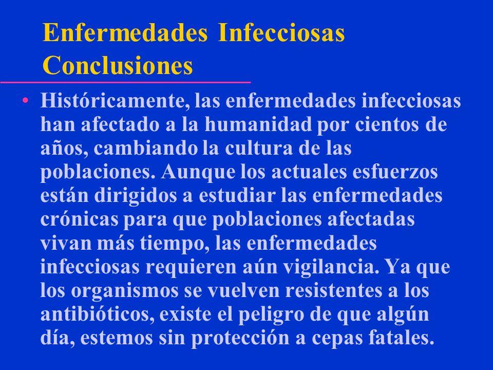 Enfermedades Infecciosas Conclusiones