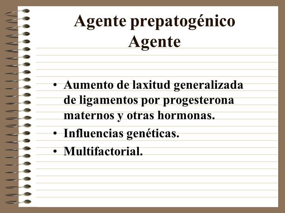 Agente prepatogénico Agente