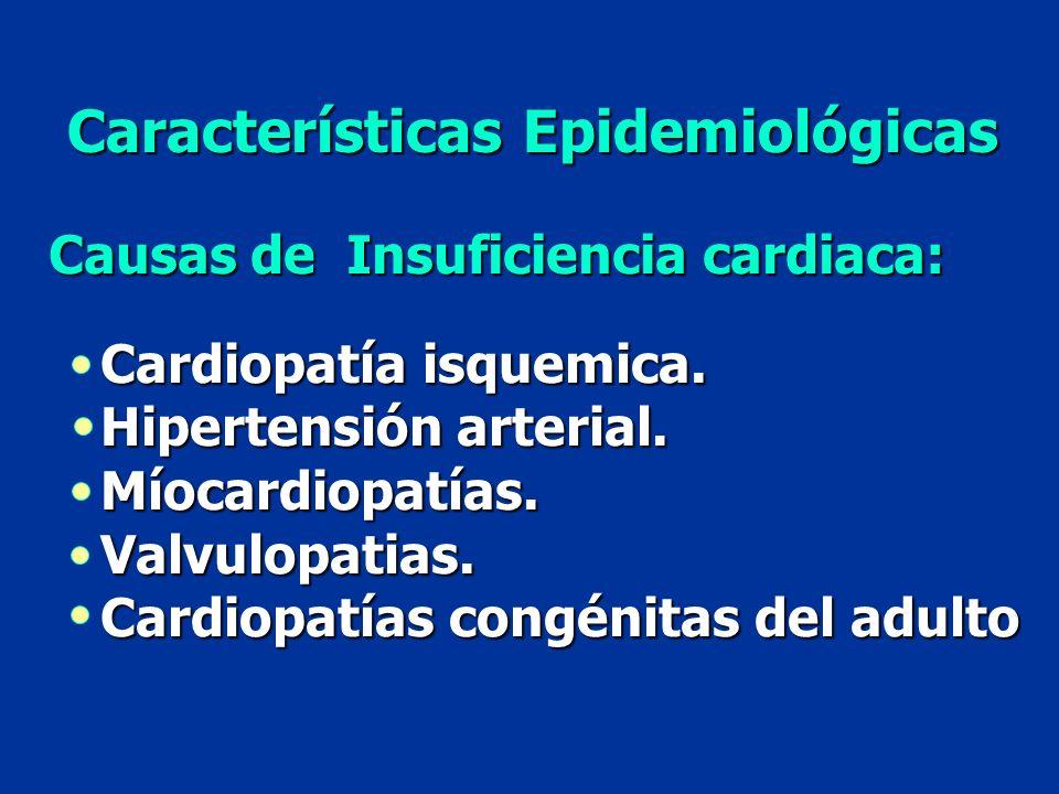 Características Epidemiológicas