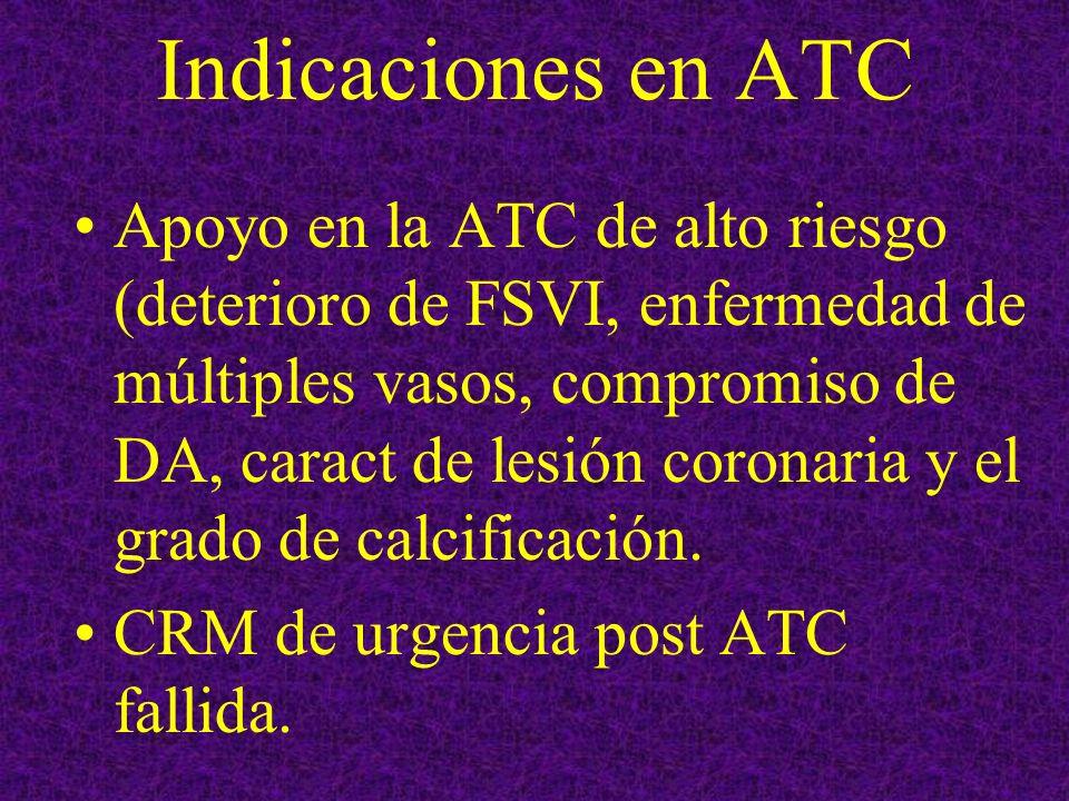 Indicaciones en ATC