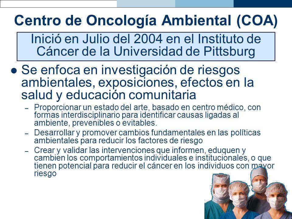 Centro de Oncología Ambiental (COA)