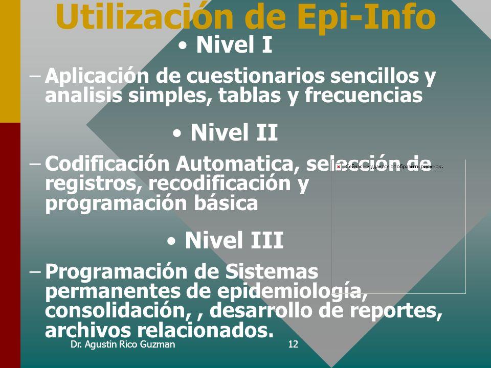 Utilización de Epi-Info