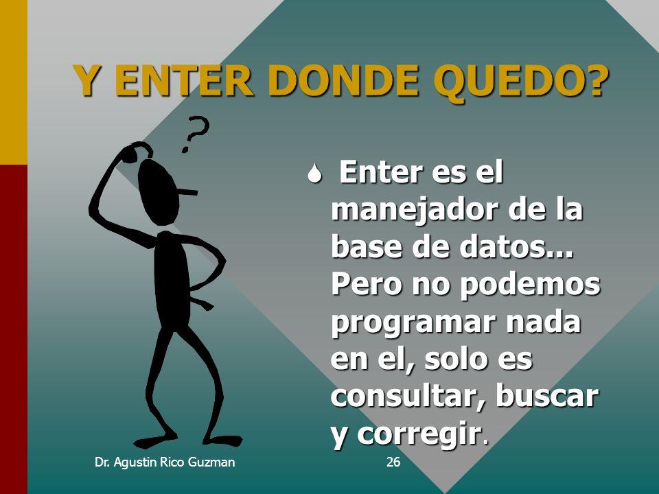 Curso de Epi-Info Y ENTER DONDE QUEDO