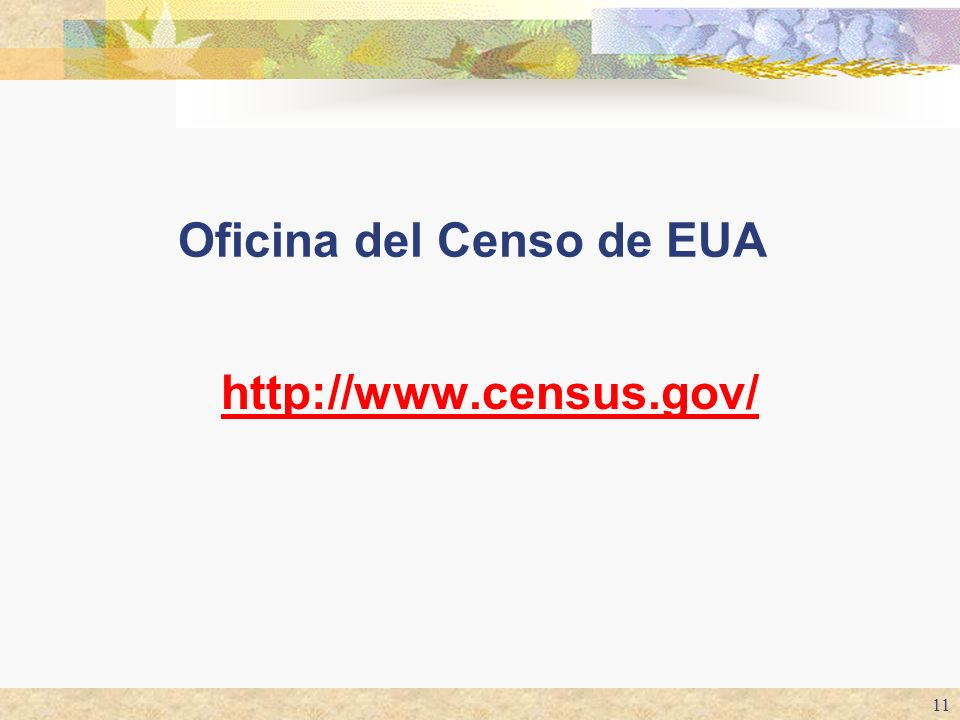 Oficina del Censo de EUA