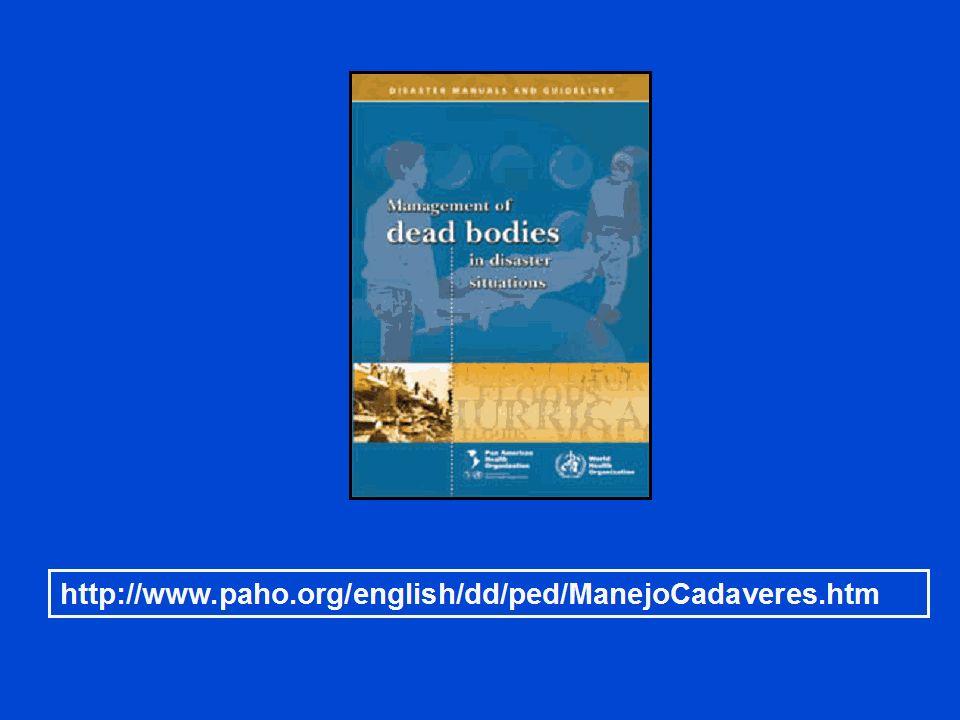 Información adicional se puede obtener de la Organización Panamericana de la Salud (OPS)