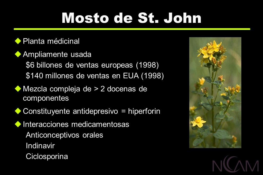 Mosto de St. John Planta médicinal Ampliamente usada