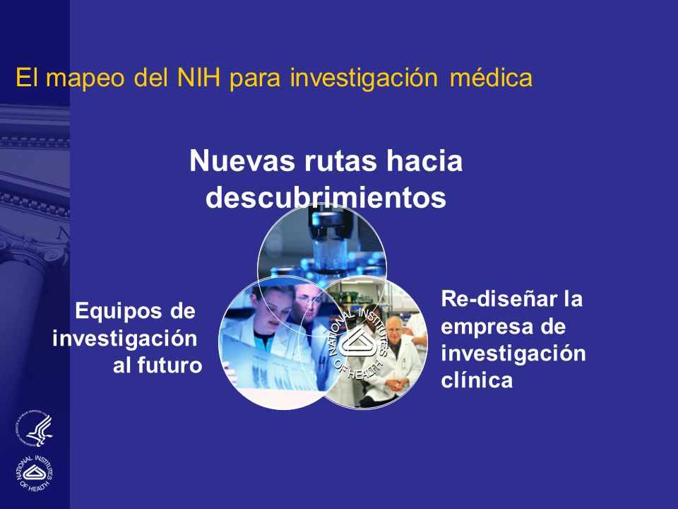 El mapeo del NIH para investigación médica