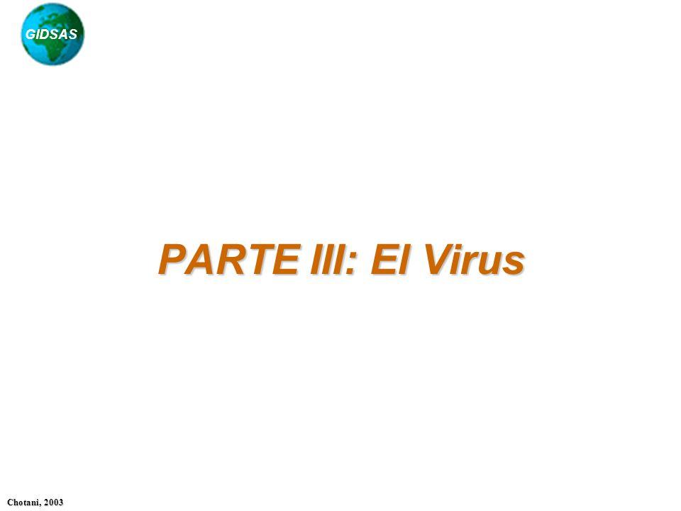PARTE III: El Virus