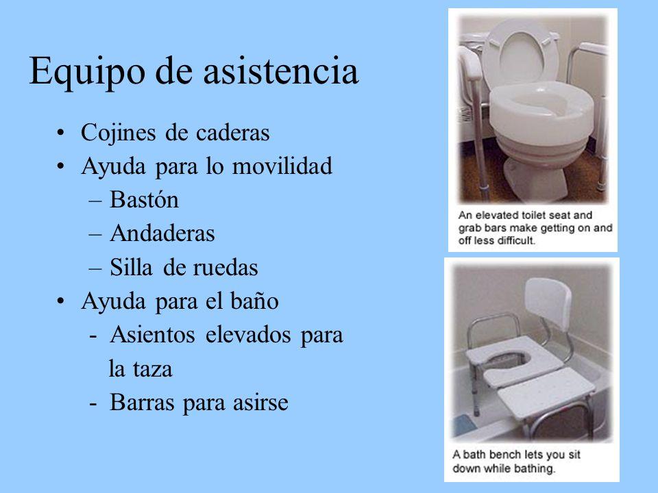 Equipo de asistencia Cojines de caderas Ayuda para lo movilidad Bastón