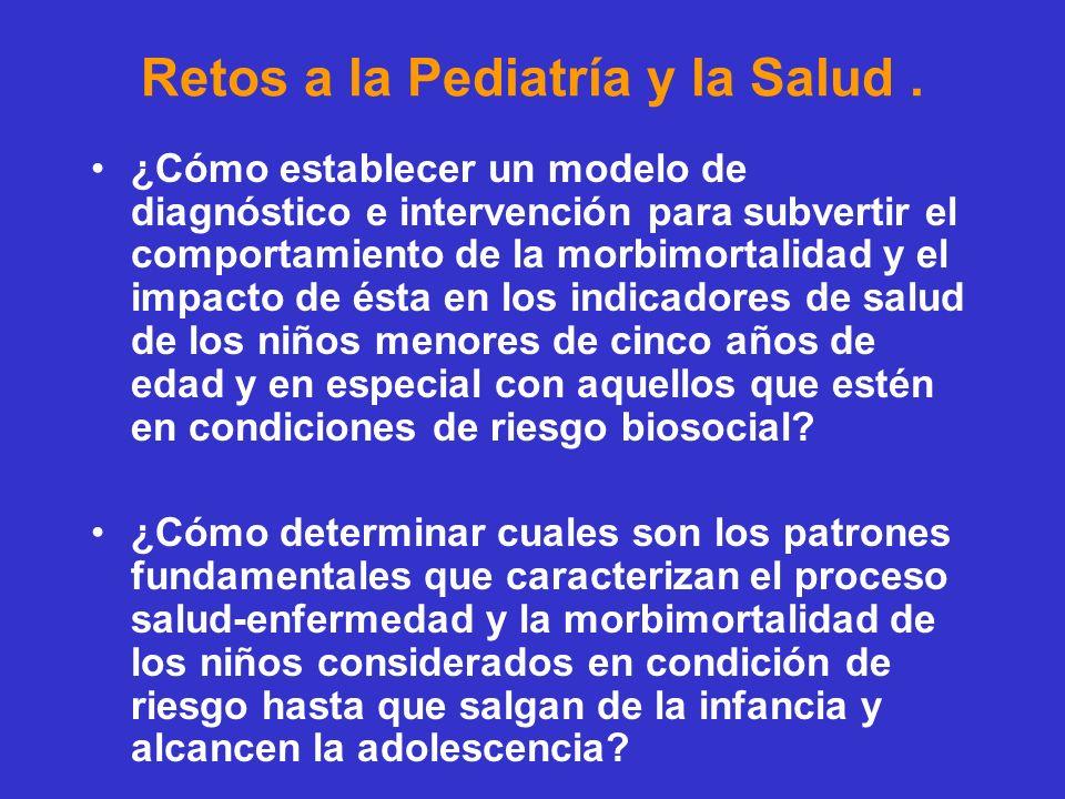 Retos a la Pediatría y la Salud .