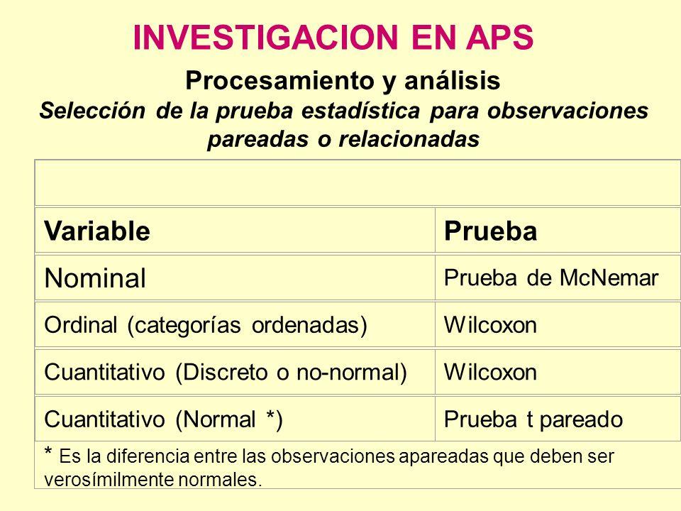 Procesamiento y análisis