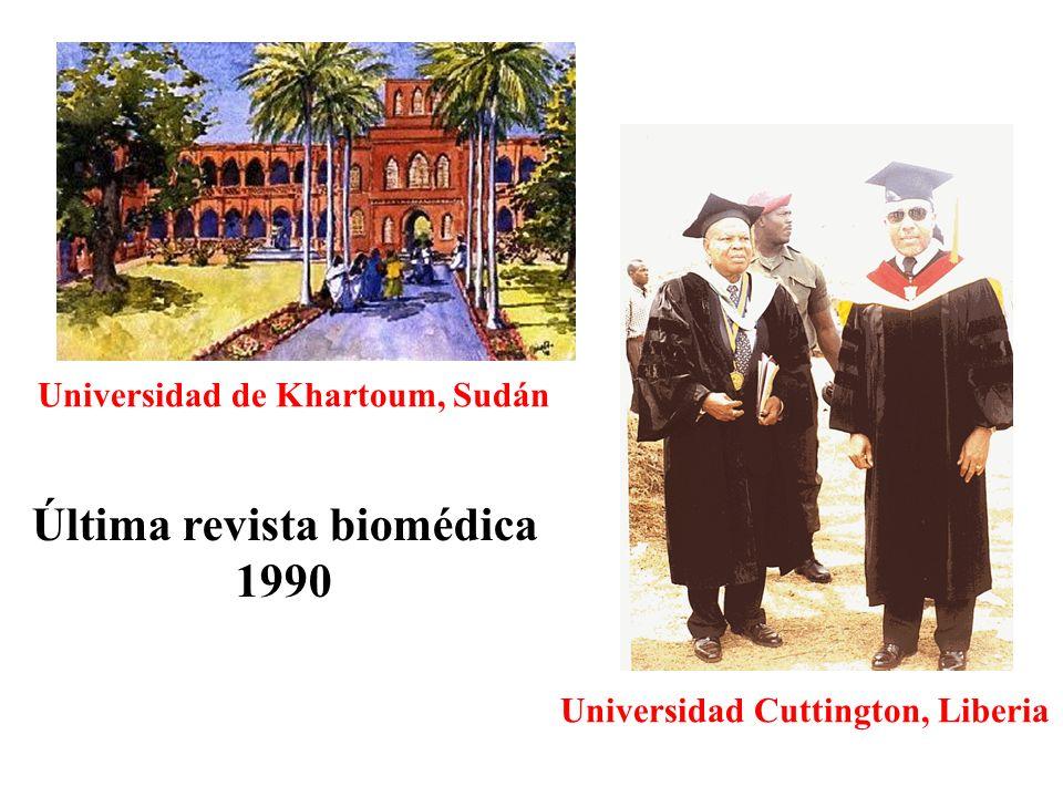 Última revista biomédica