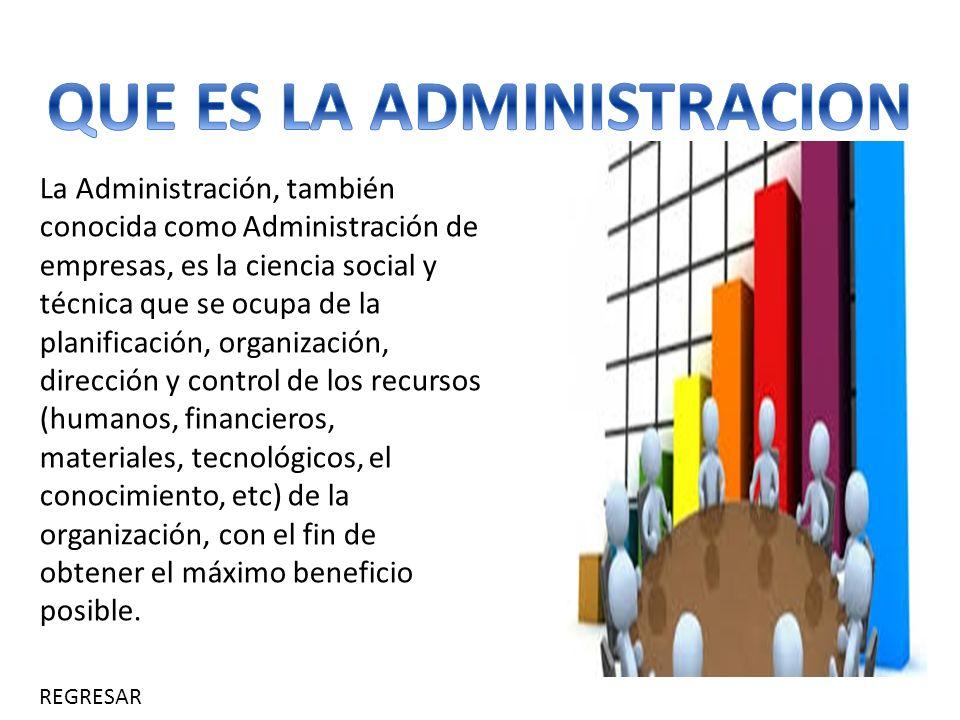 Administracion tipos de administraci n que es la for Que es practica de oficina