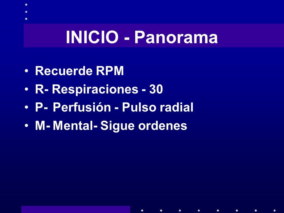INICIO - Panorama Recuerde RPM R- Respiraciones - 30